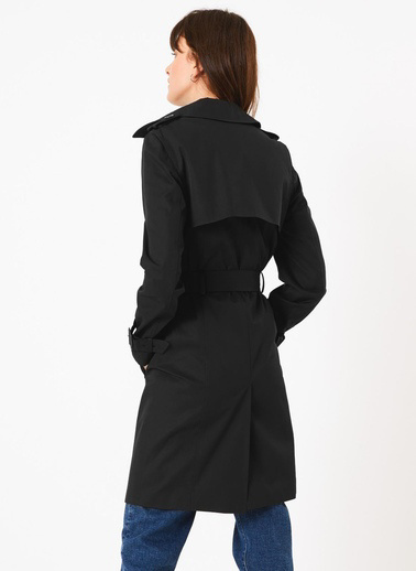 Marks & Spencer Trençkot Siyah